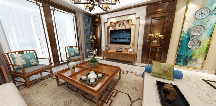 新中式两居室