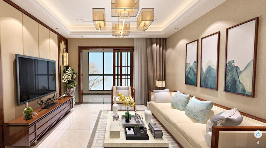 新中式三居室