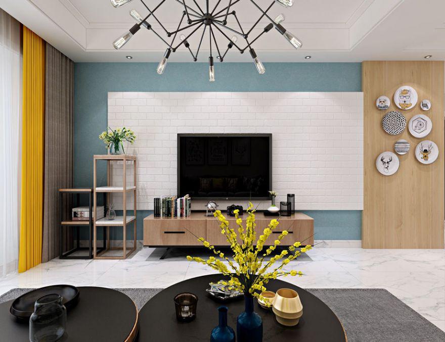 北欧风格两居室
