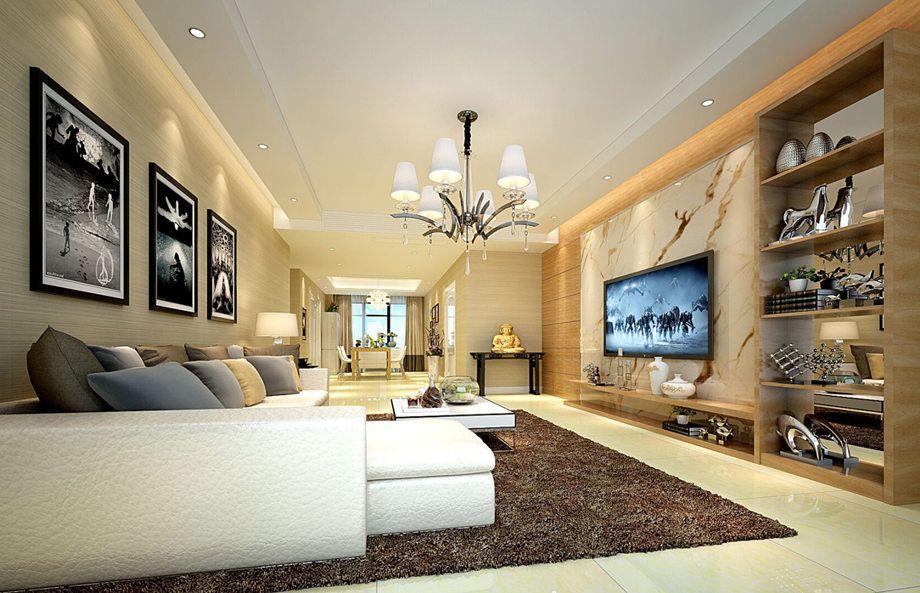 海安家族e站为您带来舒适的跳色两居室设计