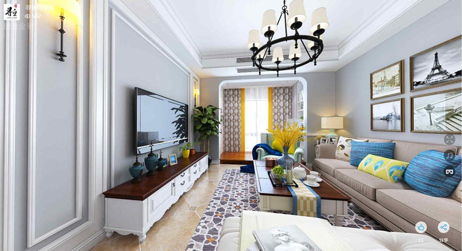 南通装修案例简美三居室